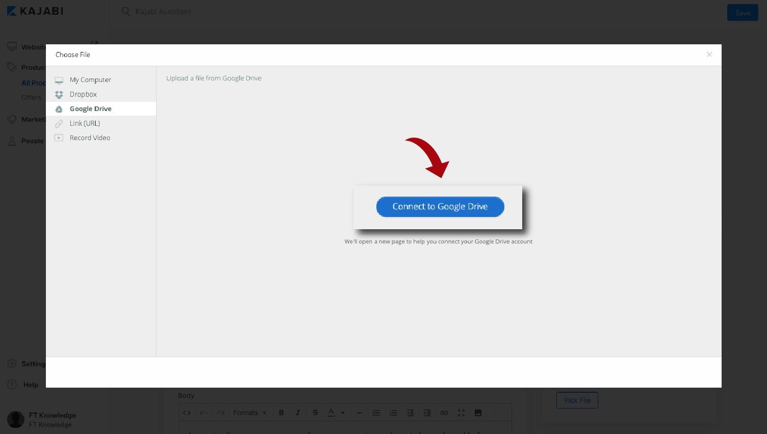 Kajabi Content and Course Creation (Google Drive)