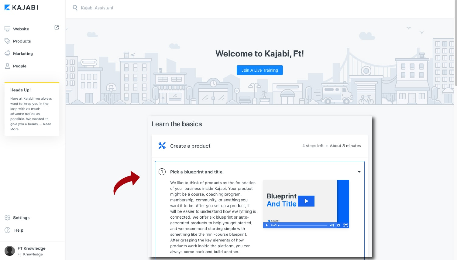 Content and Course Creation (Product Blueprint)