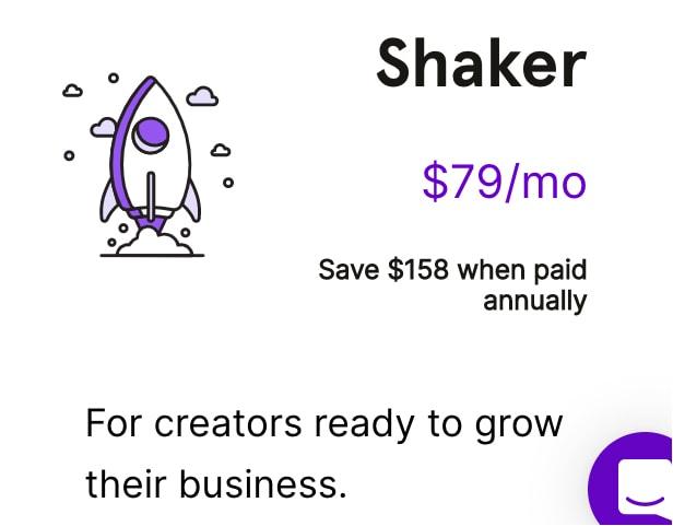 Podia Shaker