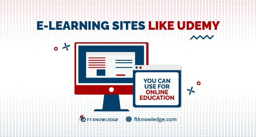 E-Learning Sites Like Udemy You Can Use for Online Education